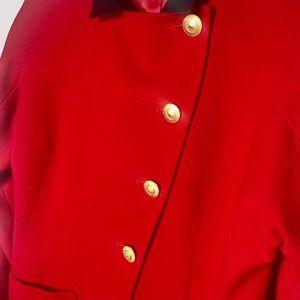 Dior Jackets & Coats - Vintage Dior 80s Red Blazer